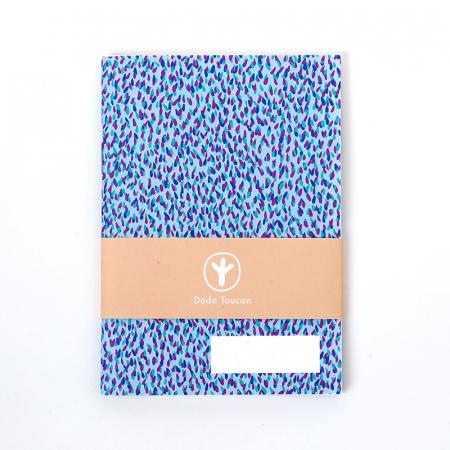 Little Notebook - Blue Rain