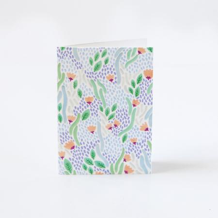 """Mini Carte """"Rivière de fleurs"""""""