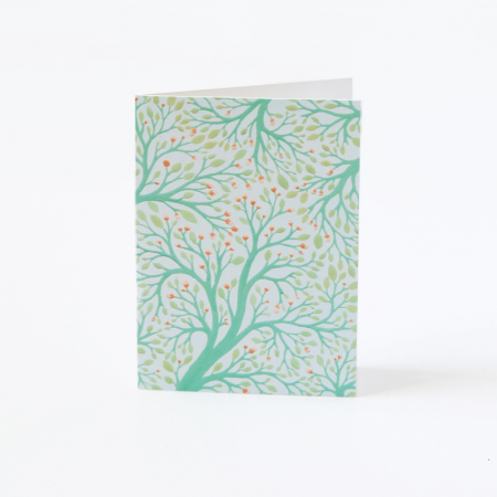"Mini Greeting Card ""Canopy"""