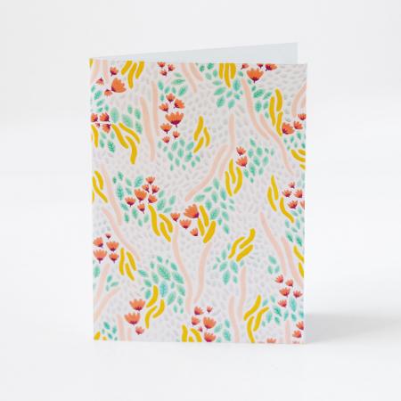 "Carte ""Prairie de fleurs"""