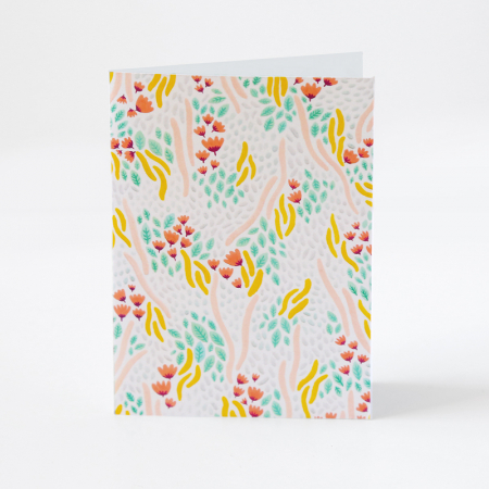 "Greeting Card ""Flowery Meadow"""