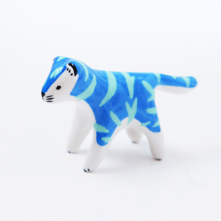 Mini Blue & Green Tiger