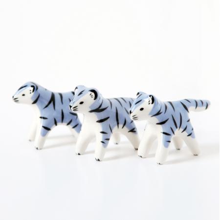 Mini tigre bleu