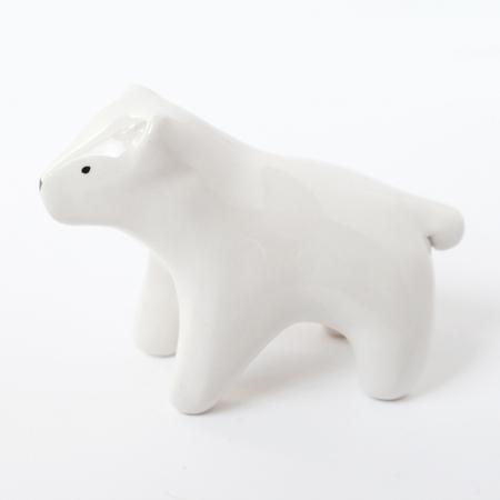 Standing White Bear