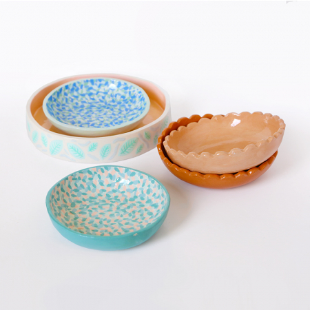 "Workshop ""colorful plates..."