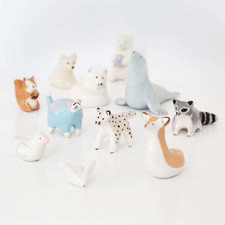 "Workshop ""Animals"" in ceramic"