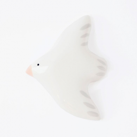 Flying Bird wall decoration - White