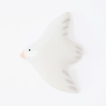 Flying Bird wall decoration - White