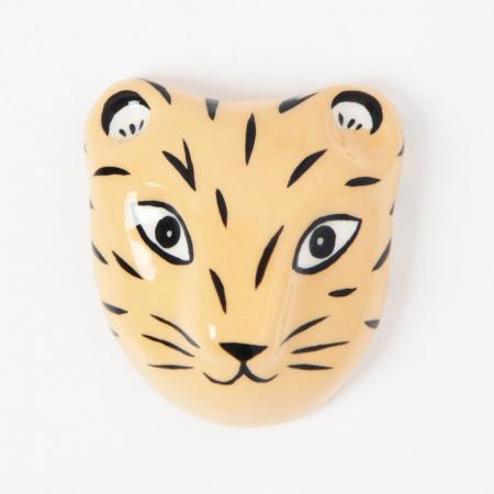 Masque de tigre mural
