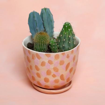 """NEW! Flower pot """"Ocher's garden"""" +..."""