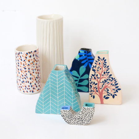 "Workshop ""large geometric vases"" in..."