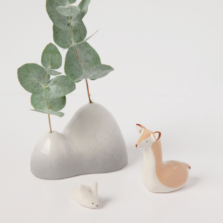 Mini mountain vase